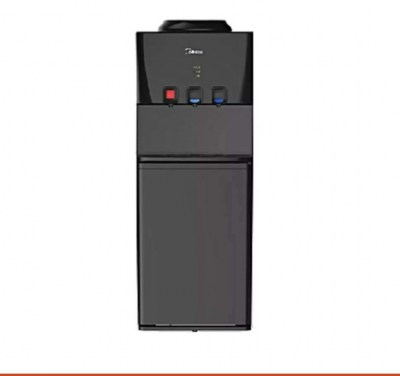 3 Tap Midea Water Dispenser - YL1740S - Black 10000