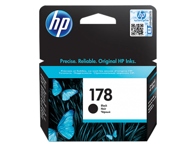 HP 178 Black Original Ink Cartridge(CB316HE)