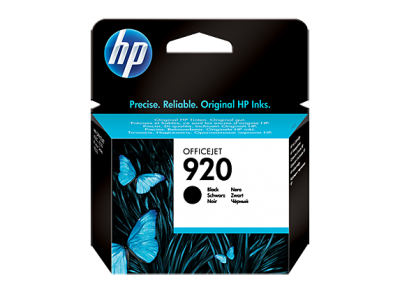 HP 920 Black Original Ink Cartridge(CD971AE)
