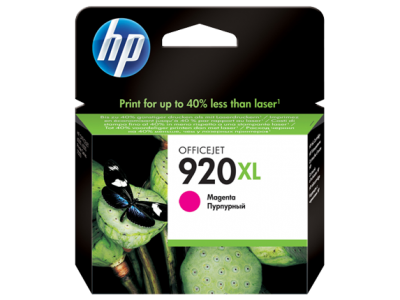 HP 920XL High Yield Magenta Original Ink Cartridge(CD973AE)