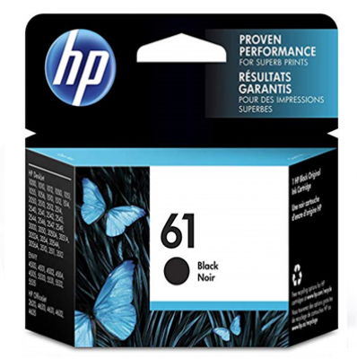 HP DESKJET INK 61 CARTRIDGE BLACK