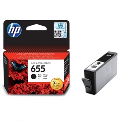 HP DESKJET INK 655 CARTRIDGE BLACK(CZ109AEBHL)