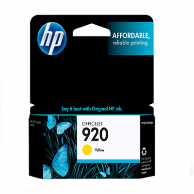 HP OFFICEJET INK 920 CARTRIDGE YELLOW