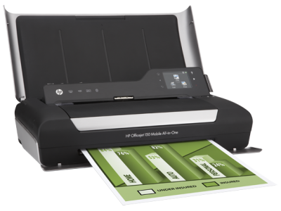 Hp Officeje 150 mobile AIO printer
