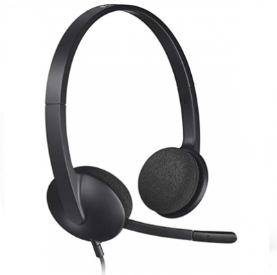 LOGITECH H340 USB WIRED HEADSET