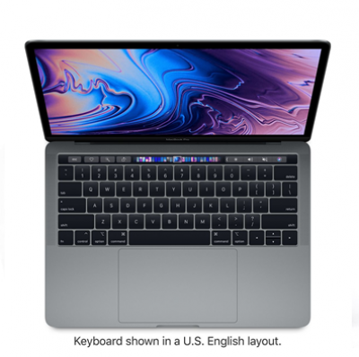 MACBOOK PRO WITH TOUCH BAR INTEL CORE I5 2.3GHZ