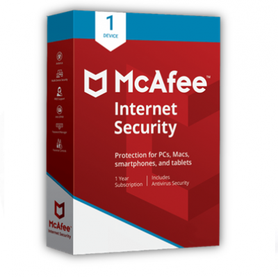 MCAFEE INTERNET SECURITY 1USER