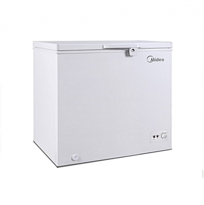 MIDEA CHEST FREEZER HS -268C - 206 LITERS SILVER
