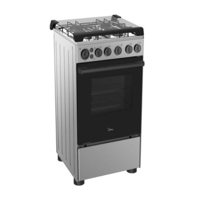 Midea Gas Cooker 4 Burner - 20BMG4G007-S