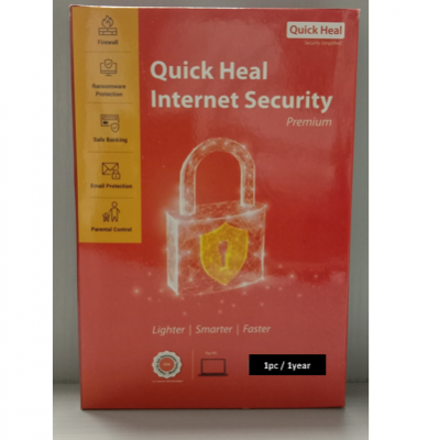 QUICK HEAL I SECURITY 1pcs