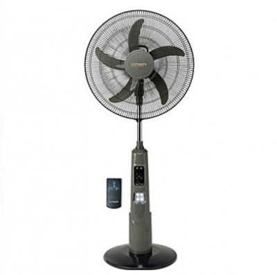 SCANFROST STANDING FAN WITH REMOTE 18INCH BLACK