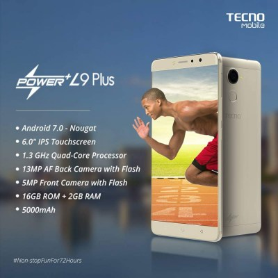 TECHNO L9 PLUS